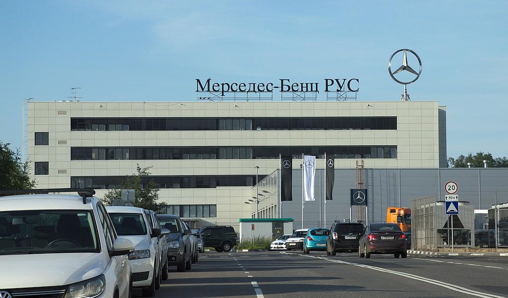 Изготовление крышной конструкции Мерседес-Бенц РУС - фото 1