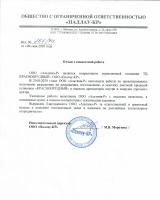 Отзыв о совместной работе ООО «ПАЛЛАУ-КР»